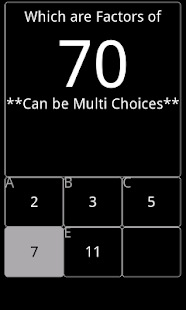 Math Choices- screenshot thumbnail