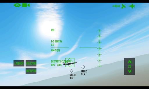 Flightsim F-15 Simulator