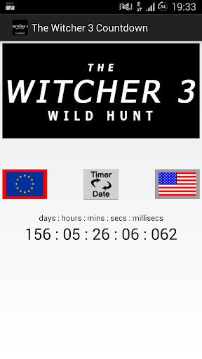 The Witcher 3 Countdown Widget