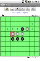 Screenshot of XO Demo