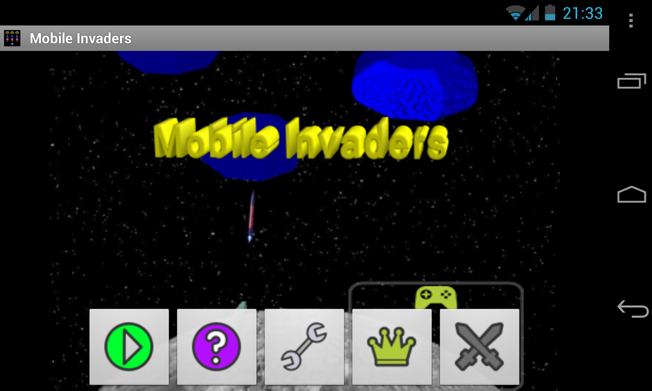 Mobile Invaders (Full) - screenshot
