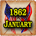 1862 Jan Am Civil War Gazette logo