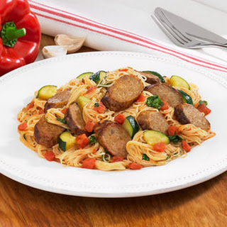 Johnsonville Spicy Pasta Skillet