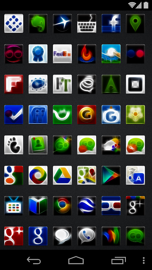 Entity - Icon Pack - screenshot