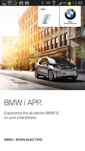 BMW i App - screenshot thumbnail