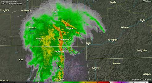 PYKL3 Radar (USA NEXRAD/TDWR) Screenshot 17