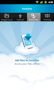 MegaCloud – 8GB Free Storage - screenshot thumbnail
