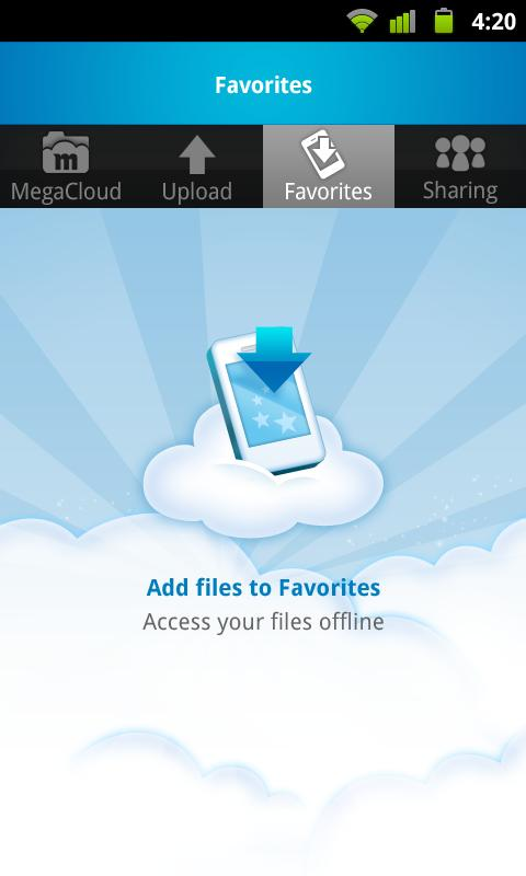 MegaCloud – 8GB Free Storage - screenshot