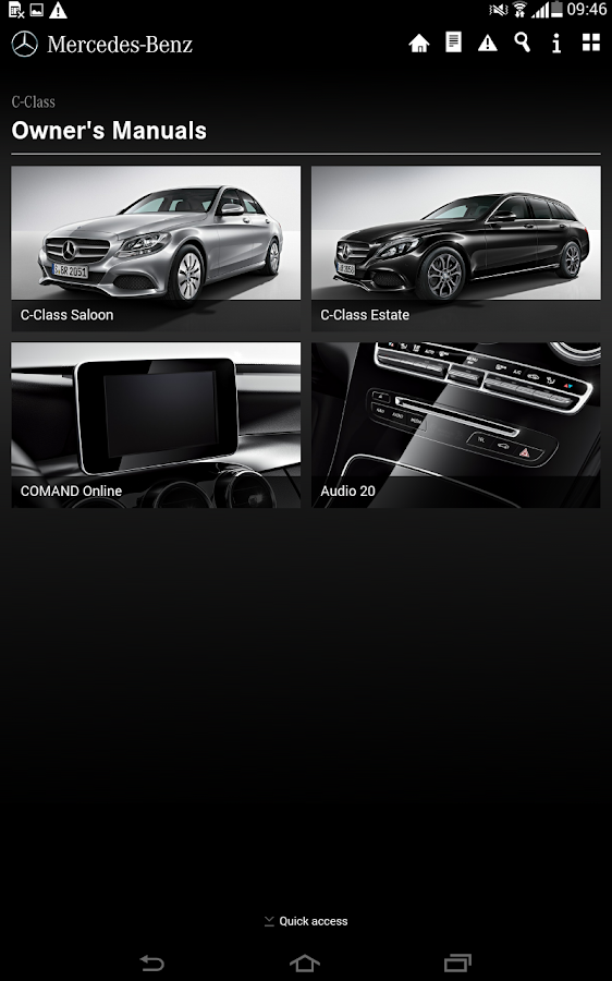 Mercedes-Benz Guides - screenshot