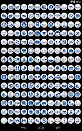 Clean Blue - Icon Pack Screenshot 9