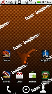 Texas Longhorns Live Wallpaper - screenshot thumbnail