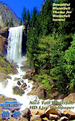 Nice Tall Waterfall