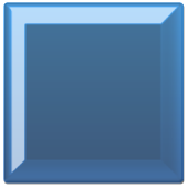 GO SMS Royal Blue Pearl Theme