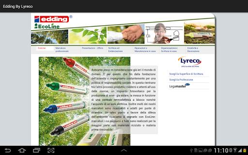 玩工具App edding by Lyreco免費 APP試玩