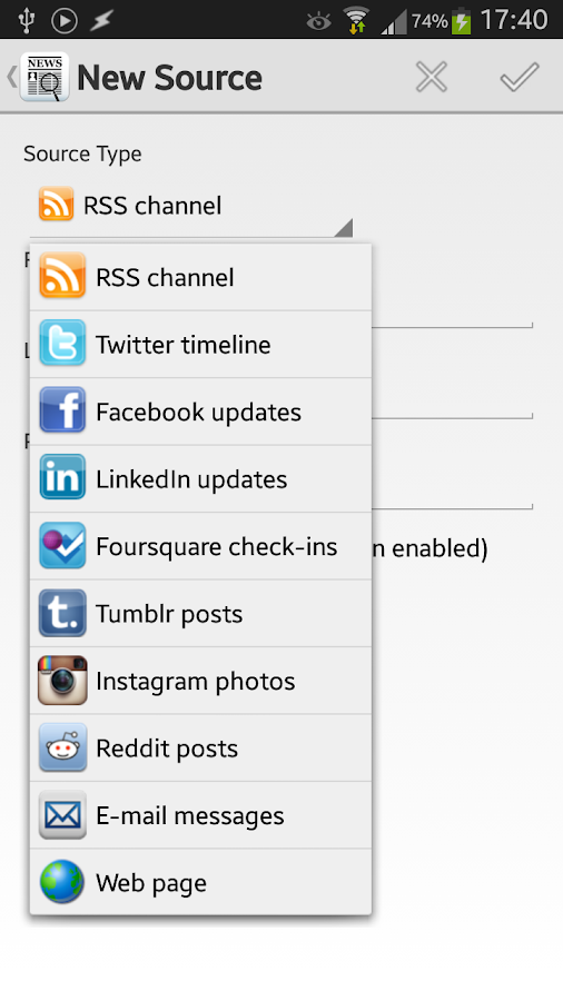 Newspy - News & Social Filter - screenshot