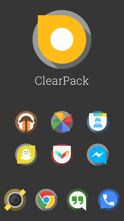 ClearPack (Nova|Apex|Go|ADW) - screenshot