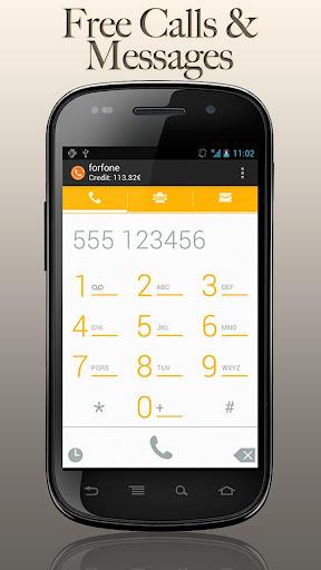 forfone: Gratis Anrufe SMS