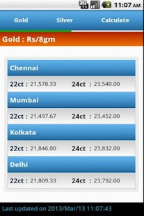 Gold Price India Live - screenshot thumbnail