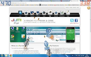 Screenshot of JumiFly