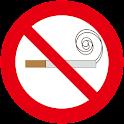 Non-smoking, smoking history icon
