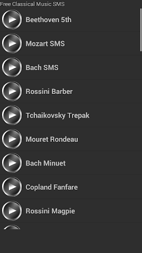 無料のクラシック音楽の通知