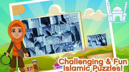Islamic Art Puzzles Game