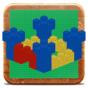 Medieval Castle in bricks for PC and MAC