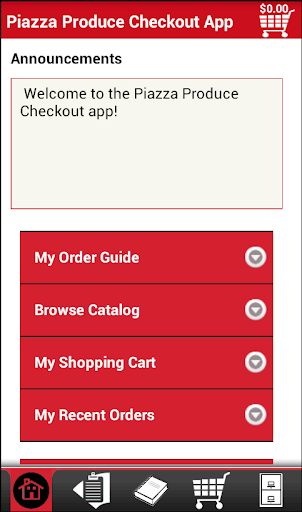 Piazza Produce Checkout App