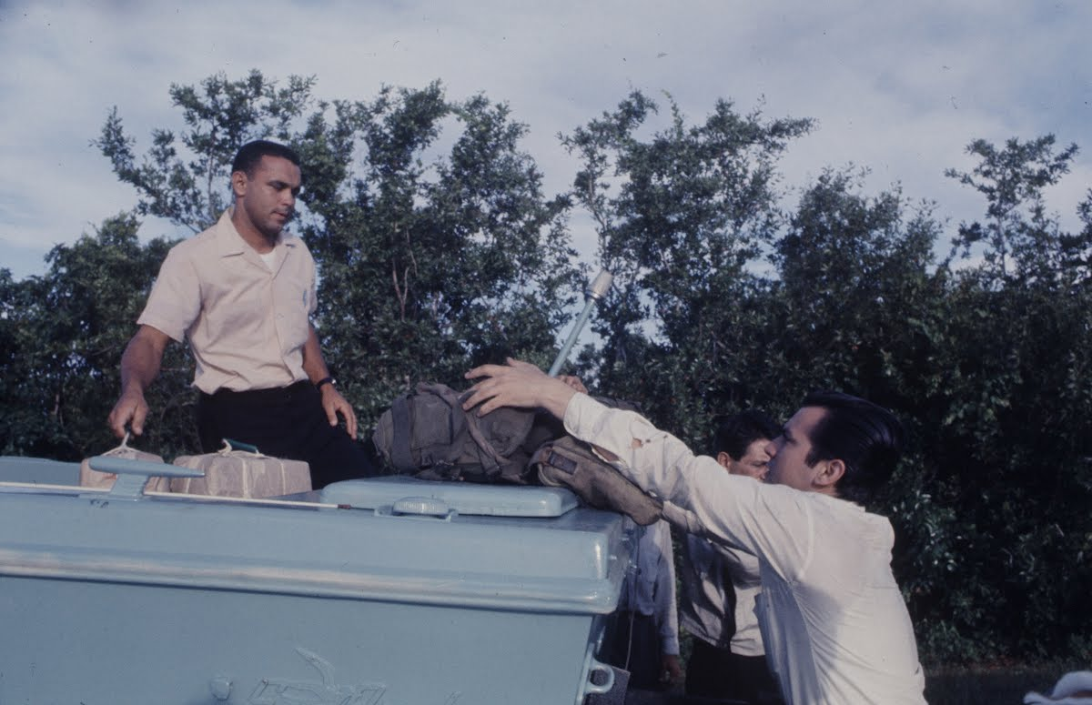 Cubans' Abortive Invasion-Small Group Of Cubans Leaves Florida In An Unsuccessful Attempt To Invade Cuba