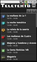 Screenshot of Teletexto