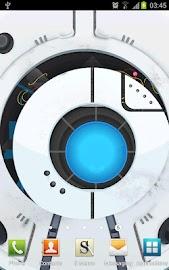 Space Robot LiveWallpaper Screenshot 1
