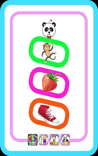 無料のパンダの赤ちゃんの楽しい楽しいワード