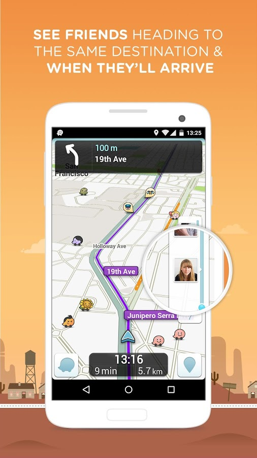 Waze Social GPS Maps & Traffic- screenshot