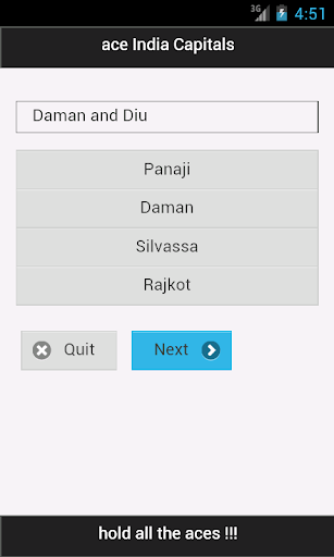 【免費教育App】ace India Capitals-APP點子