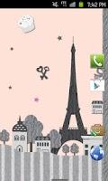 Screenshot of Paris Theme