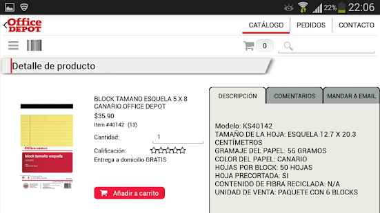 Office Depot México- screenshot thumbnail