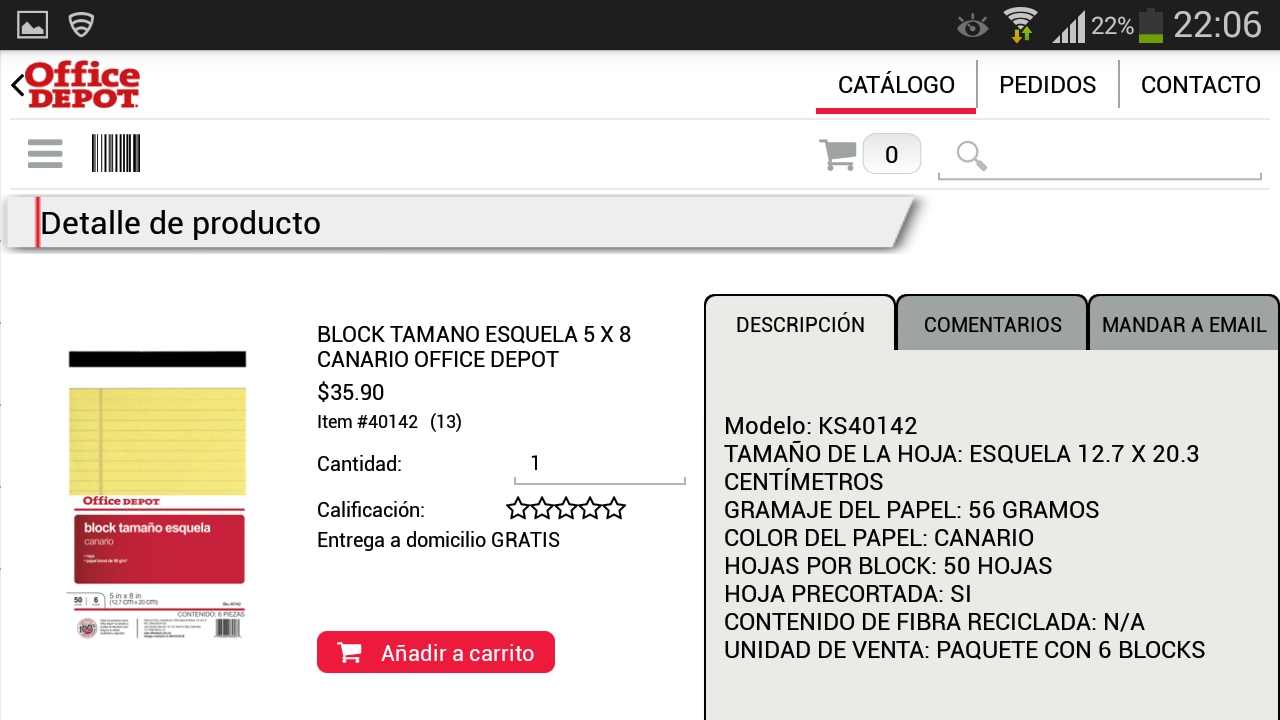 Office Depot México- screenshot