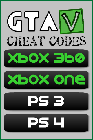 Cheat Codes For GTA5 Game