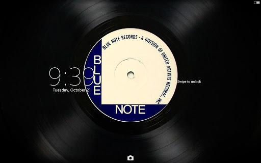 玩個人化App|XPERIA™ Blue Note Vinyl Theme免費|APP試玩