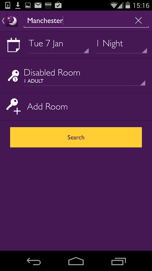 Premier Inn Hotels- screenshot