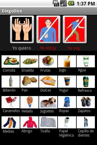 HablaFácil Autismo DiegoDice- screenshot
