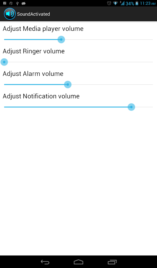 Volume Controller- screenshot
