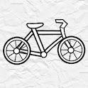 Paper Bike icon
