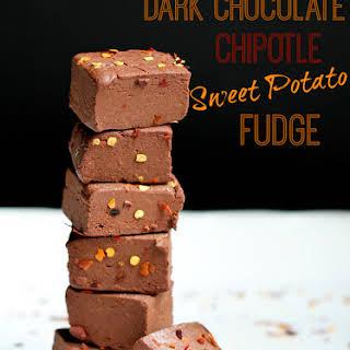 Dark Chocolate Chipotle Sweet Potato Fudge.