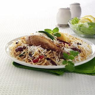BBQ Chicken Tikka Biryani