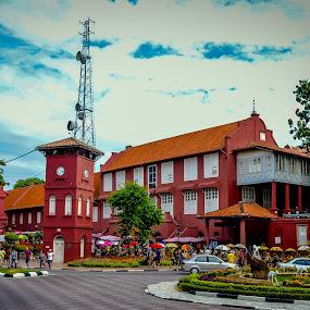 malacca history church by Luqman Asnawi - City,  Street & Park  Street Scenes