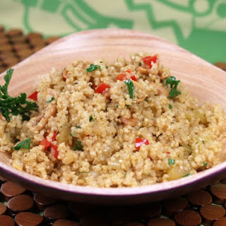 Slow Cooker Quinoa Vegetable Pilaf