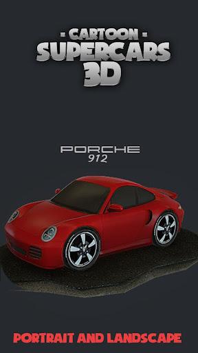 Toon Cars Porsche 911 3D lwp