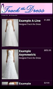 Track the Dress Lite - screenshot thumbnail