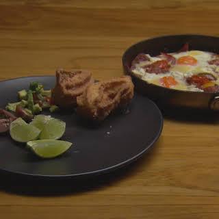 Spanish Eggs and Churros.
